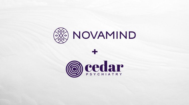 Novamind Closes the Acquisition of Cedar Psychiatry
