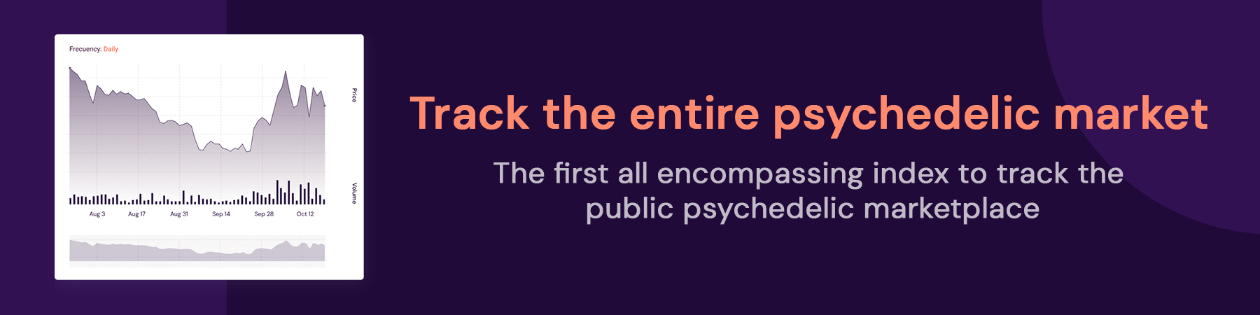Track the entire psychedelic market